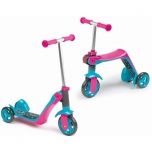 Töukerattas SMOBY Reversible 2in1 Scooter, roosa