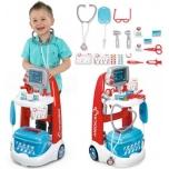 Mängukomplekt SMOBY Medical Trolley