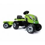 SMOBY XL трактор зелёный