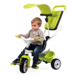 Kolmerattaline jalgrattas Smoby Baby Balade, roheline