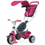 Kolmerattaline jalgrattas Smoby Baby Balade, roosa