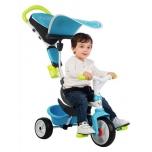 SMOBY трехколесный велосипед, синий