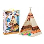 Tipi WIGWAM tent + 60 color balls