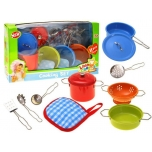 Metal Kitchen Set ,11 pcs.