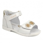 Leather Shoes for Girls White