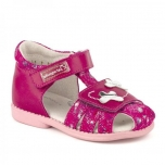 Leather Shoes for Girls Pink