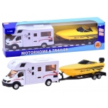 Auto Kamper camping + tow truck and motorboat
