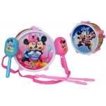 Детский барабан Mickey + погремушки