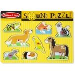 """Häälega puzzle """"Loomad"""" Melissa&Doug"""