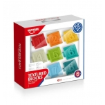 Textured Blocks 8pcs.Best For Early Education