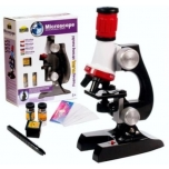 Dromader Microscope 100, 400, 1200 x (educational series)