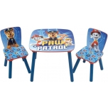 Set table with 2 chairs PAW PATROL