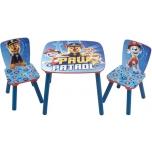 Lastemööbli komplekt Laud ja 2 tooli PAW PATROL