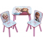 Set table with 2 chairs FROZEN