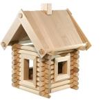 Palkehitaja komplekt.Konstruktor puidust 83 osa