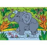 Развивающие рамки. Слоненок.11 элементов