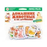 MAG-RUS Laste magnetid Painduvad Koduloomad 24tk