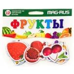 """MAG-RUS Магниты """"Фрукты"""" 12 элементов"""