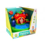 Fishing game.Puzzle magnetic fishing