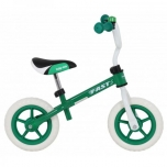 "Walking Bike 10"" Green FAST"
