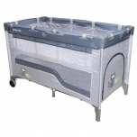 Playpen 2 levels Grey