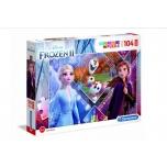 Clementoni пазл Maxi Super Color  Frozen 2,104 элемента