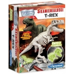 CLEMENTONI SCIENCE & PLAY ARCHEOFUN T-Rex Dinosaur  Fluo