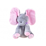 Interactive plush Elephant