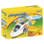 PLAYMOBIL 1.2.3. Plane with Passenger