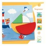Развивающая деревянная игра - Tangramini