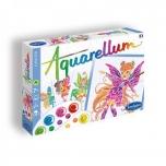 Akvarelli värvimispildid Aquarellum Junior Nymphes