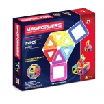 Magnetkonstruktor  MAGFORMERS Basic 26 PCS
