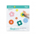 Quutopia - Bath puzzle - Flower Power