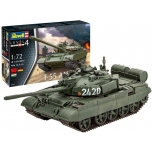 Soviet Revell Tank T-55 model scale 1:72