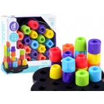 Educational blocks puzzle tower 19 pieces