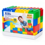 Building bricks XXL, 45 pieces Polesie