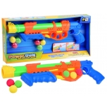 Gun for foam balls and water + 6 balls
