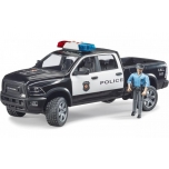 RAM 2500 Police Pick Up With Police Officer