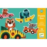 Duo Puzzle - Racing cars (20 pcs)