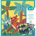 Scratch cards - Big animals
