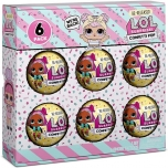 Lol Surprise! Confetti Pop - Dawn. 6 Re-Released Dolls Each with 9 Surprises.MGA
