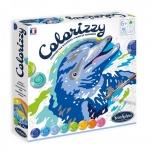 Раскрашивание по номерам-Colorizzy Дельфины