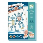 Mix & Match Templikomplekt Robotid