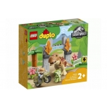 LEGO DUPLO 10939 T.rex and Triceratops Dinosaur Breakout