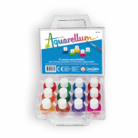Aquarellum Mini Suitcase containing 12 watercolourinks (5ml)