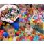 Coloured Balls, Diameter 6.5 cm - 50 pcs with transparent bag