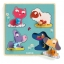 Wooden Puzzle - Large buttons - Mamifarm