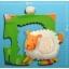 Giant Puzzle - Tactile farm puzzle - 12+8pcs