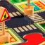 Пазл-гигант  Дорога  DJECO 24 детали+5 дорожных знаков