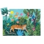 Silhouette puzzles - The tiger's walk - 24pcs